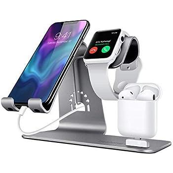 BENTOBEN Support Téléphone, Support de Apple Watch, 2 en 1 Dock Station de Charge Station pour