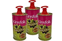 Kinsfolk Pure ((Imported from Spain)) Olive Oil Tin - 100 ml ((Pack of 3))