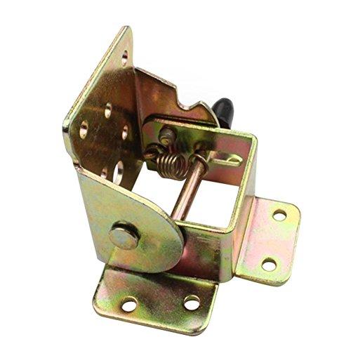 Bisagras plegables de metal con bloqueo para silla de mesa, patas para muebles, seawang