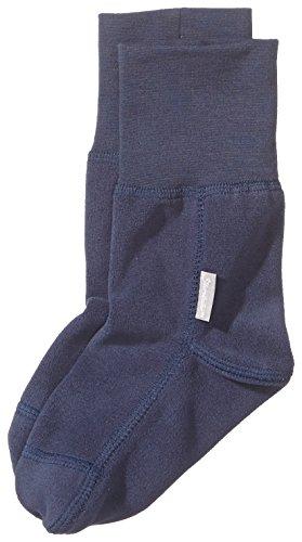 Sterntaler Unisex - Baby Socken Fleece-Socke, Einfarbig, Gr. 24 (Herstellergröße: 23/24), Blau (Marine 300)