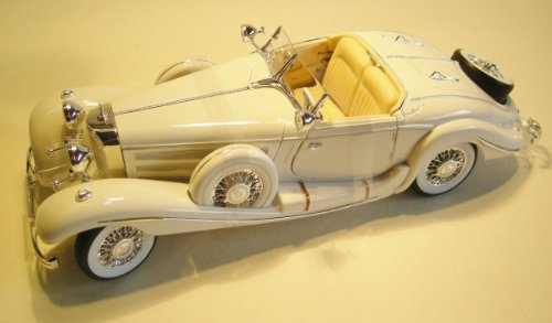 Mercedes-Benz 500 K Typ Specialroadster (1936) weiß 1:18 Maisto