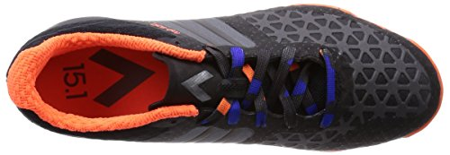 adidas, Scarpe da calcetto uomo nero Eu nero / arancione