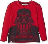 Lego Wear Jungen Langarmshirt Lego Boy Star Wars CM-73424, Rot (Red 365), 128