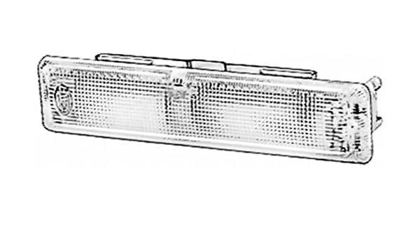 12V//24V 10W interno K - Colore diffusore luce: cristallino HELLA 2JA 001 357-002 Luce abitacolo Zona montaggio: interno Montaggio