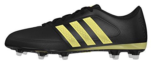 adidas Gloro 16.1 Fg, Chaussures de Football Garçon Noir (Negbas / DORMET / Negbas)