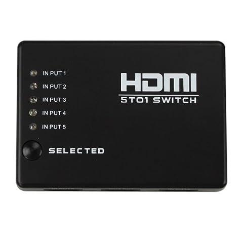 Switch HDMI ULTRA COMPACT - 3 ports - HUB 3x1