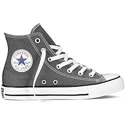 Converse Chuck Taylor All Star Speciality Hi, Zapatillas Altas de Tela Unisex Adulto, Gris (Charcoal), 36.5 EU