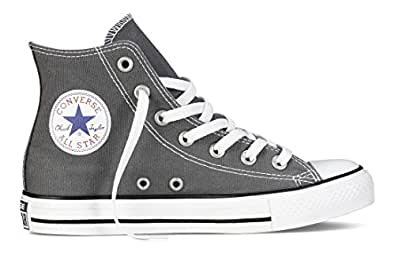 Converse Chuck Taylor All Star Season Hi Trainers, Anthracite Grey, 3.5 UK