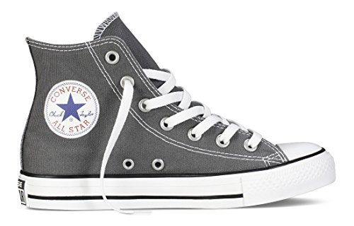 Converse Chuck Taylor All Star Season Hi Trainers, Anthracite Grey, 7 UK