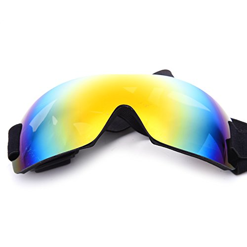 Aprigy - Anti - UV Pet Big Dog Sonnenbrille Super d¨¹nne Haustier Gl?Ser Anti-UV-Gl?Ser verhindert UV-Strahlen [Gelb ]