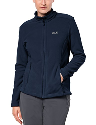 Jack Wolfskin Damen W Moonrise Klassisch Fleecejacke, Midnight Blue, XL