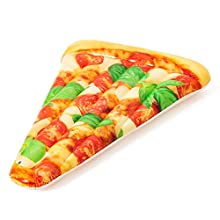 Bestway 44038 | Float'n Fashion - Materassino Gonfiabile Trancio Pizza, 188x130 cm