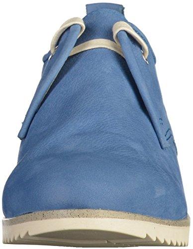 Marco Tozzi 23203, Scarpe Stringate Basse Oxford Donna Azzurro