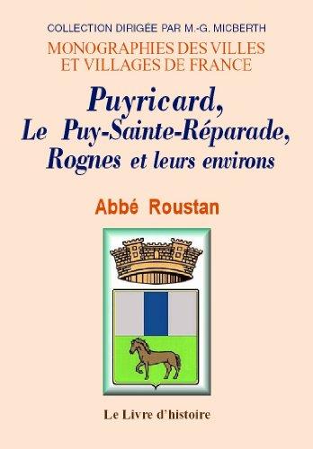 Puyricard, le Puy-Sainte-Réparade, Rognes et leurs environs