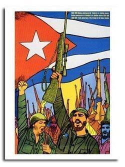 Révolutionnaire Cubain - Affiche poster révolutionnaire cubain Fidel Castro -