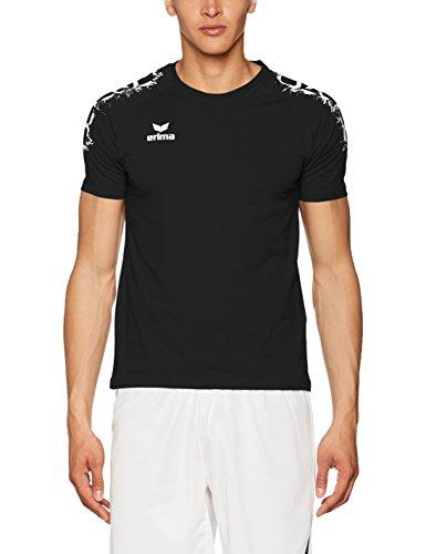 Erima Herren Graffic 5-C Basic T-Shirt, schwarz, M