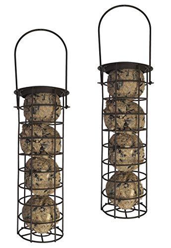 0db5cf17e3e09 2 x 10550 Deluxe Heritage Wild Bird à suspendre Boule de graisse pour  oiseaux Jardin Distributeur