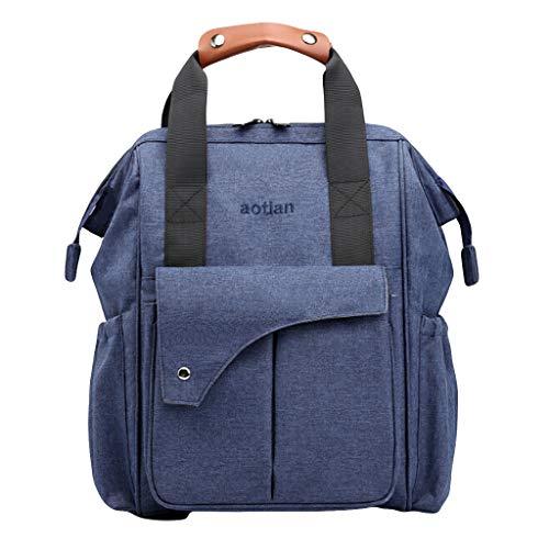 VWTTV Mamabeutel Multifunktions mütterlicherseits und Kind Rucksack Mode Mutterschaft Mamabeutel große Kapazität Baby Tasche Reisetasche Pflegetasche Blau Outlet