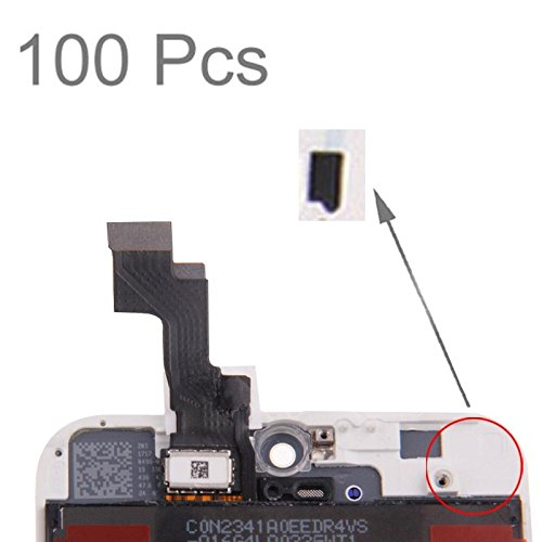 By LussoLiv 100 PCS for iPhone 5S LCD Digitizer Assembly Sticker