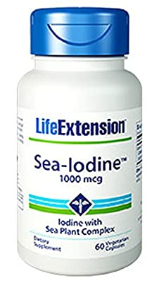 Life Extension Sea-Iodine (1000mcg, 60 Vegetarian Capsules) by Life Extension