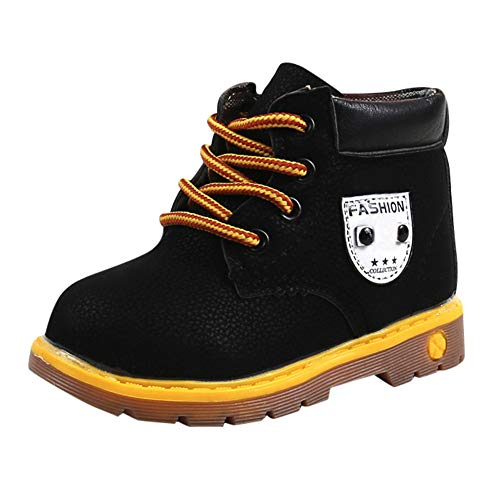 Heligen Kinderschuhe Schneestiefel für Mädchen Jungen Mode Stiefel weichen Boden der Baby Mädchen 21-30 Stiefel Herbst Winter Kind Schuh Stiefel -