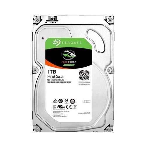 Seagate FireCuda 1 TB interne Hybrid Festplatte (SSHD, 8,89 cm (3,5 Zoll) 64 MB, Cache, Sata 6 Gb/s) Modellnr.: ST1000DX002