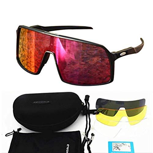 SMEI Brille Polarisierte Radfahren Sonnenbrille Männer Frauen Sport Straße MTB Mountainbike Brille Brille Sonnenbrille Sonnenbrille Sutro-schwarz