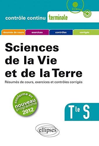 SVT Terminale S Conforme au Programme 2012 par Pierre-Marie Bourlon