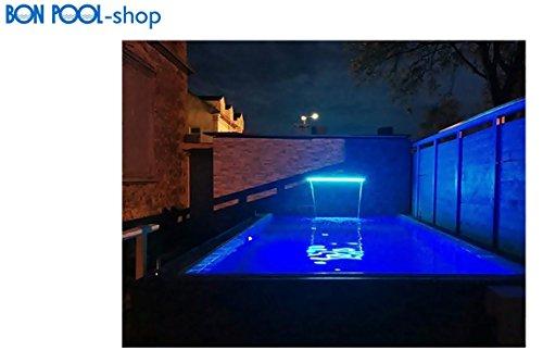 Schwalldusche Wasserfall LED Beleuchtung 300 x 150 mm, 8 W BON POOL