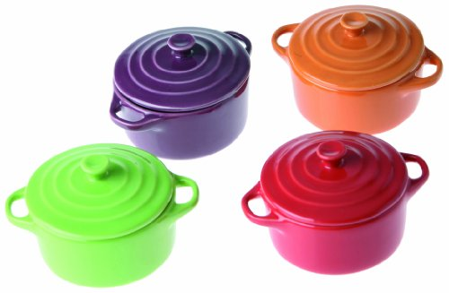 Prepapration Plaisir P9865 &Box of 4 Casserole Dishes Round Spring