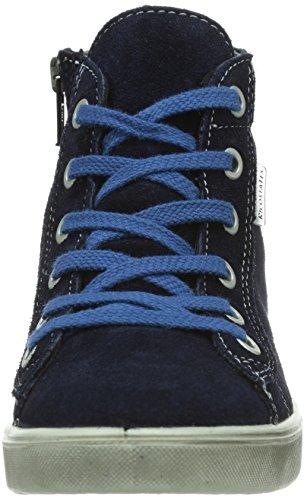 Ricosta Zaynor, Baskets mode mixte enfant Bleu - Blu (Blau (nautic 160))