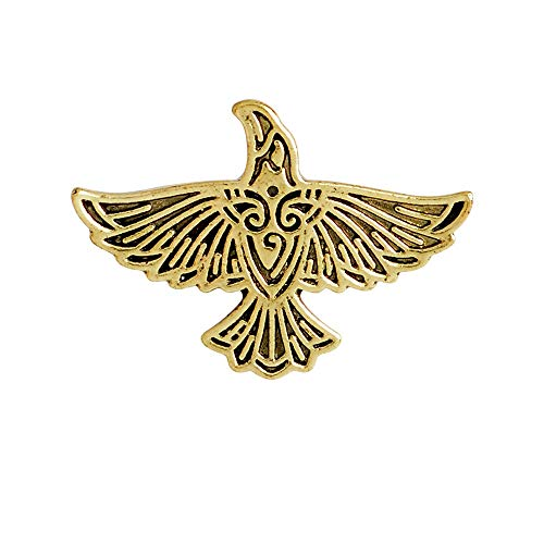 HDCooL Vintage Broche De Esmalte Viking Eagle Pin Badge Denim Jacket Collar Bags Backpacks Decoration Pins Jewellery Label Accessories Gift for Man N01