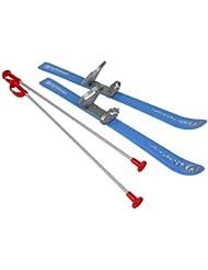 Plastkon Baby Ski 2012 - Fijaciones de esquí alpino, color azul, talla 70 cm
