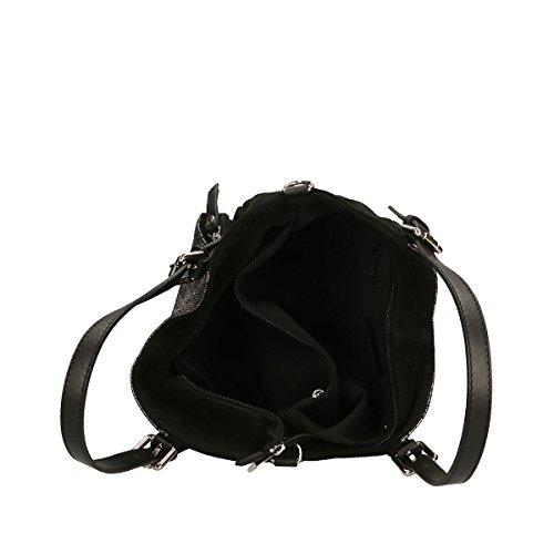 Precio Más Bajo Precio Más Barato Salida El Más Barato Chicca Borse Borsa a mano in pelle 35x16x13 100% Genuine Leather Nero Nuevos Precios Más Bajos izLXT