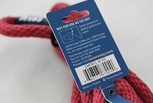 Cesar Millan Illusion Laisse de dressage pour chien en coton tressé Rouge