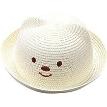 f627903571ac4 Amazon.es  sombrero paja - Blanco