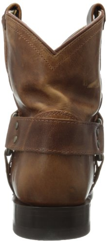 Frye Wyatt Harness Short, Bottes western femme Marron (Cog)