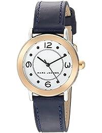 Marc Jacobs Riley Reloj de Mujer Cuarzo 28mm Correa de Piel de Ternero  MJ1604 a3f7e71b5780