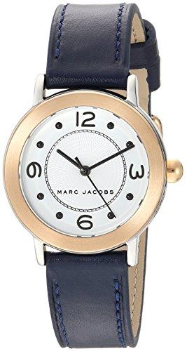 Marc Jacobs Riley Reloj de Mujer Cuarzo 28mm Correa de Piel de Ternero MJ1604