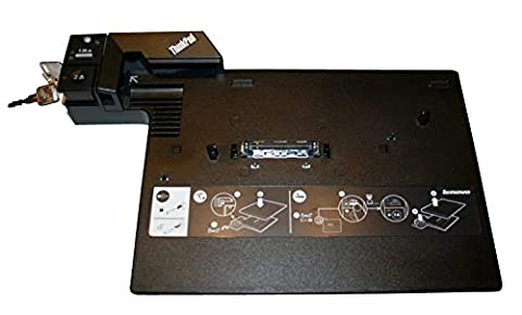 Lenovo IBM Port Replikator Typ 2504 + 2 Schlüssel + Netzteil (refurb.)