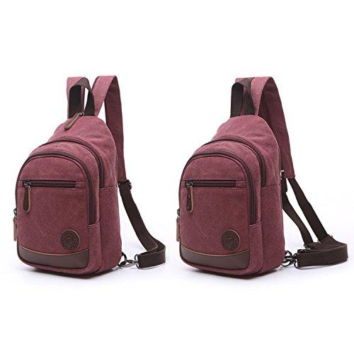54a340f373 Outreo Donna Zaino Scuola Borsa Moda Casual Daypack Zaini Firmate Borsetta  Viaggio Backpack Università Borsello Vintage ...