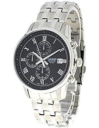 Casio bem-511d-1Herren Uhr Analog, Schwarz/Silber