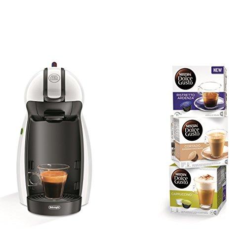 Dolce Gusto EDG100.W Macchina per Caffè Espresso e Altre Bevande, Bianco