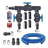 Aqua Forte Bypass Kit Pompe à Chaleur de Luxe Noir