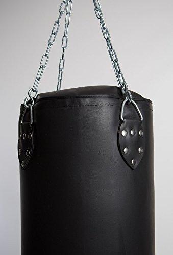 mmasport Sacco Boxe Professionale Vuoto Alta qualità 100{385cfd3ba5ce02bc0dccdc735fc0d29368e8e8265dddf621901ea7958d7fb071} Made in Italy 100 120 150 180 cm (100 x 35 cm)
