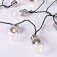 GardenKraft 75000 String Light Bulb Warm LED Party Lights - White
