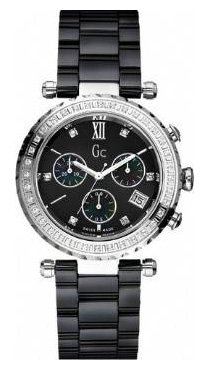 Guess I01500M2 - Reloj unisex, correa de cerámica color negro