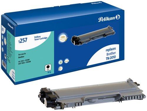 Preisvergleich Produktbild Pelikan Toner-Modul 1257 ersetzt Brother TN-2010, Schwarz, 2550 Seiten