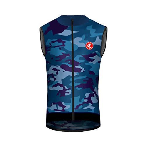 Uglyfrog Designs -Landesvorwahl Sport Radsport Trikots & Shirts Armellos Herren Sommer Stil Bekleidung Atmungsaktiv Vest