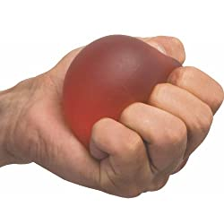 Flamingo Gel Exercise Ball is helpful in hand and finger exercise for grip strength. It gives dexterity, mobility and fine/gross motor skills.